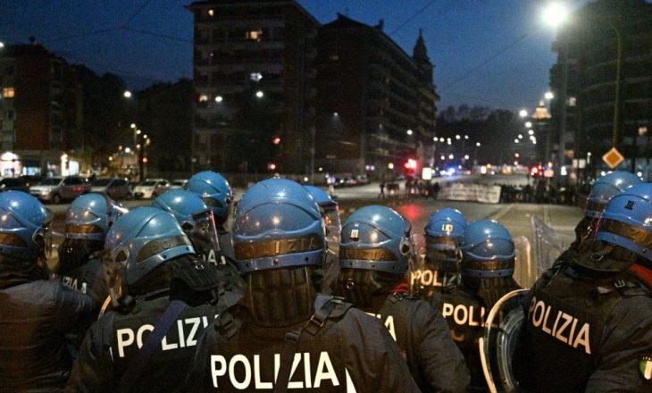 Dhunë në Torino – 11 protestues të arrestuar, 4 të plagosur