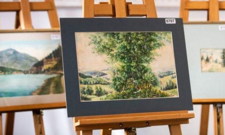Dështon shitja e pikturave që i atribuohen Hitlerit