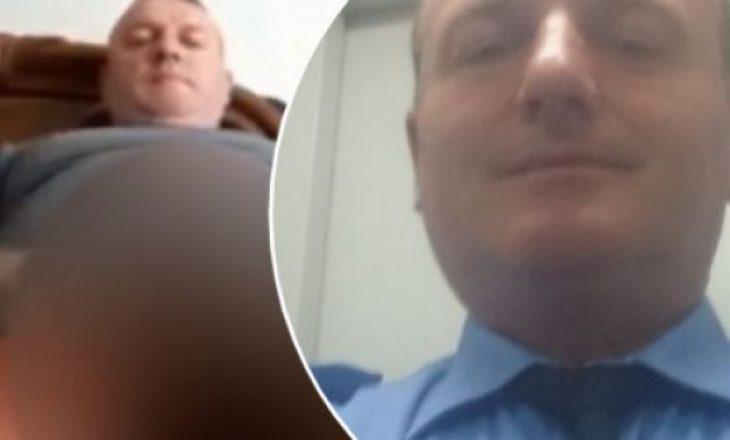 I tregoi organin gjenital në video 15-vjeçares, kështu shkruante në Facebook polici manjak pasi u ritkthye në punë