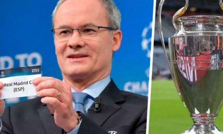 UEFA me rregulla të reja për shortin e çerekfinaleve të Ligës së Kampionëve