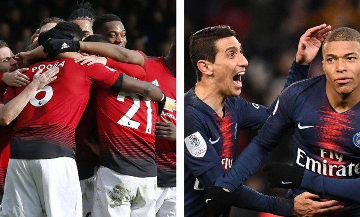 Manchester United – PSG, favoriti sipas bastoreve dhe gjithçka që duhet të dini rreth ndeshjes