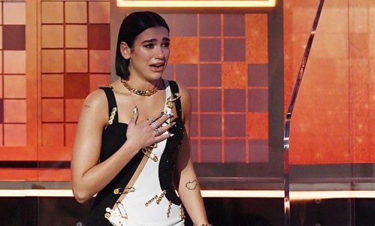 Pavarësisht se fitoi çmimin prestigjioz, Dua Lipa ka një kritikë për Grammy-n