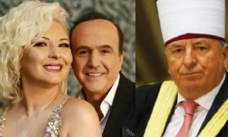 Kryetari i Bashkësisë Islame në Maqedoni feston ditëlindjen: Këndojnë Naimi dhe Mihrija [Video]