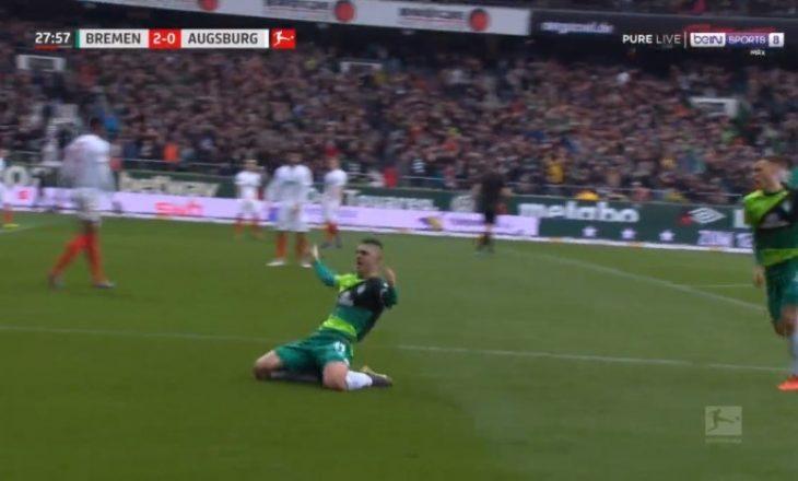 Milot Rashica nuk ndalet, sapo e shënoi golin e javës në Bundesligë