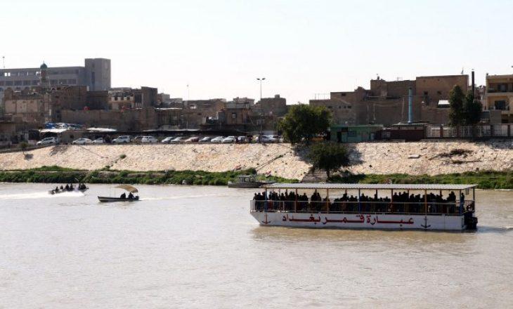 Fundoset trageti në Tigris, 70 persona humbin jetën
