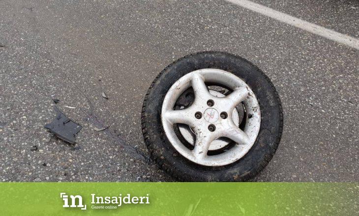Aksident i rëndë në Gjilan, katër persona të lënduar