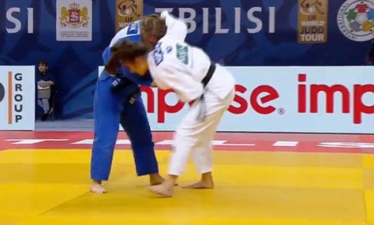 Nora Gjakova një luftë larg medaljes së artë, kalon në finale