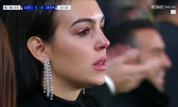 Mësohet pse shpërtheu në lot e dashura e Ronaldos