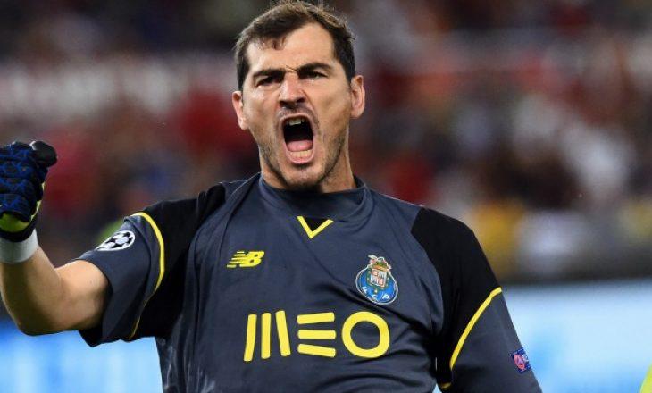 Casillas rikthehet te Reali i Madridit