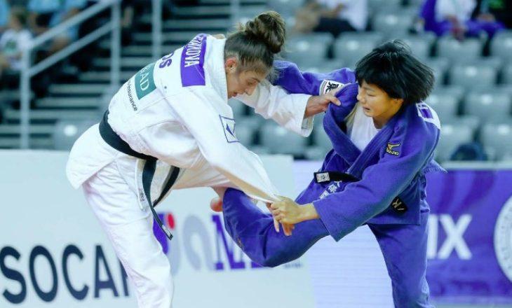 Nora Gjakova në çerek-finale të Grand Prixit në Gjeorgji
