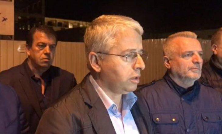 Lleshaj për herë të parë flet për dorëheqjen e tij si ministër i Brendshëm i Shqipërisë