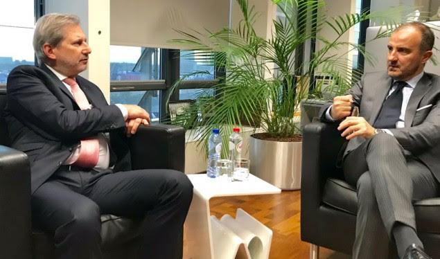 Hahn  Javë vendimtare për Shqipërinë  forcat politike të punojnë