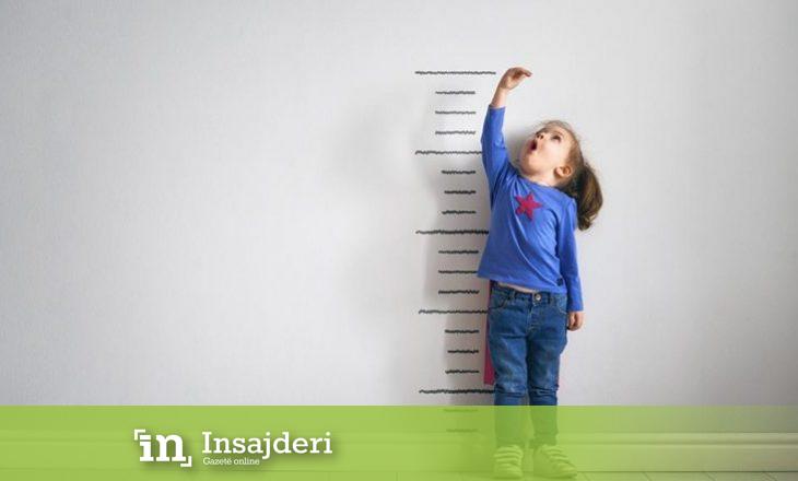 Matja e drejtë e gjatësisë së fëmijës