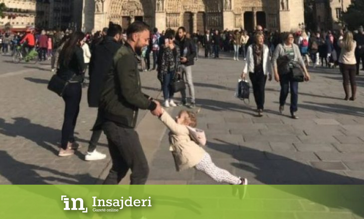 Bota po kërkon babain dhe vajzën që dje po loznin para katedrales Notre Dame