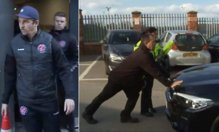 Legjenda angleze nuk e harron zakonin, arrestohet nga policia britaneze
