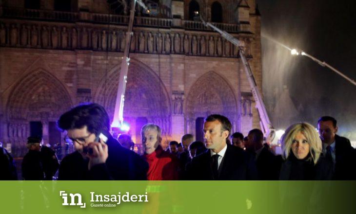 Djegia e Notre Dame – Macron: Ajo do të mbetet një nga destinacionet kryesore të Parisit