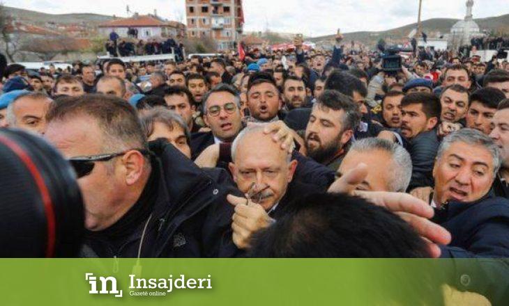Sulmohet fizikisht lideri i opozitëz në Turqi