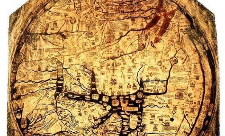 Misteri i hartës që mbijetoi për 700 vite