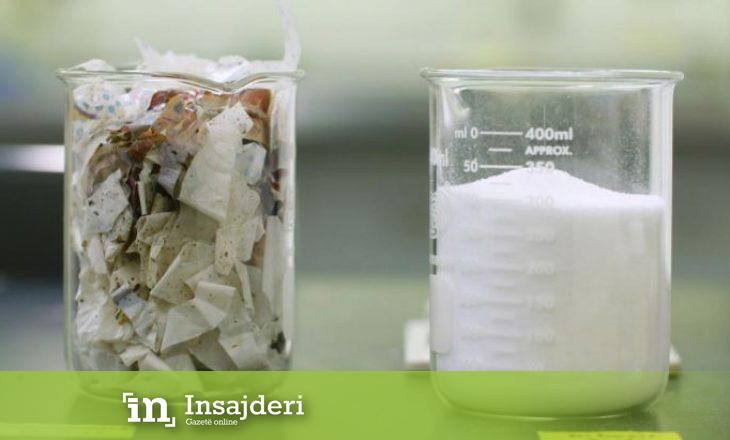 'Biocollection' vjen me tranferimin e plastikes së pariciklueshme në kimikate të dobishme