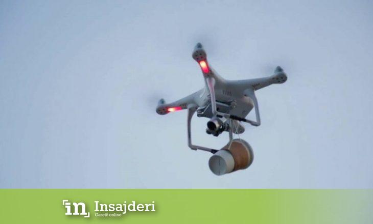 """""""Kafe nga ajri"""" me dron"""