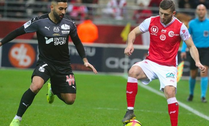 Formacionet zyrtare: Angers – Reims