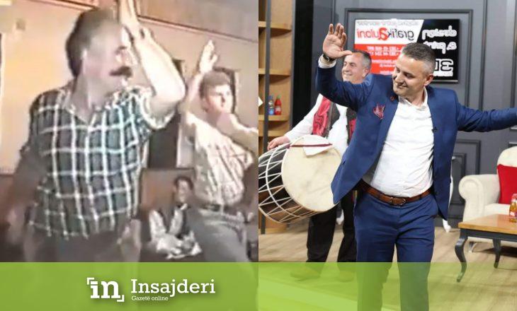 Bekim Jashari këndon e vallëzon sikur babai i tij, Hamza