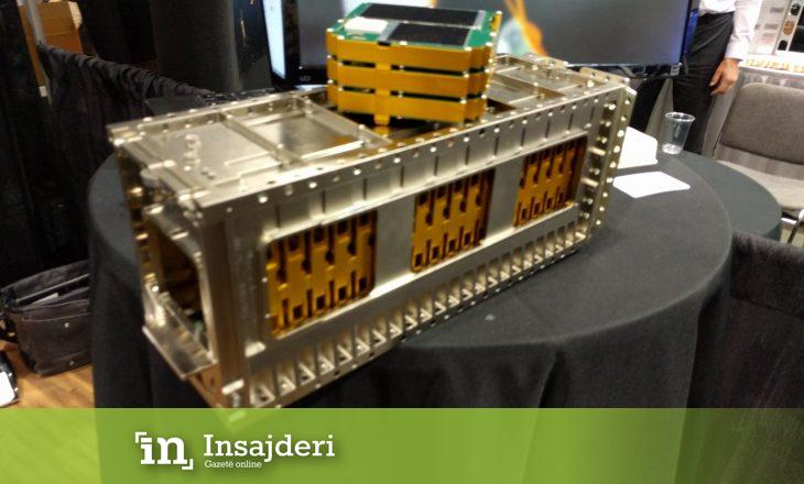 Dërgohet në hapësirë sateliti i nxënësve të një shkolle të mesme