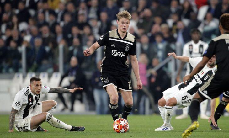 Ylli i Ajaxit tregohet 'brutal' me ngacmimin që i bëri Juventusit pas ndeshjes