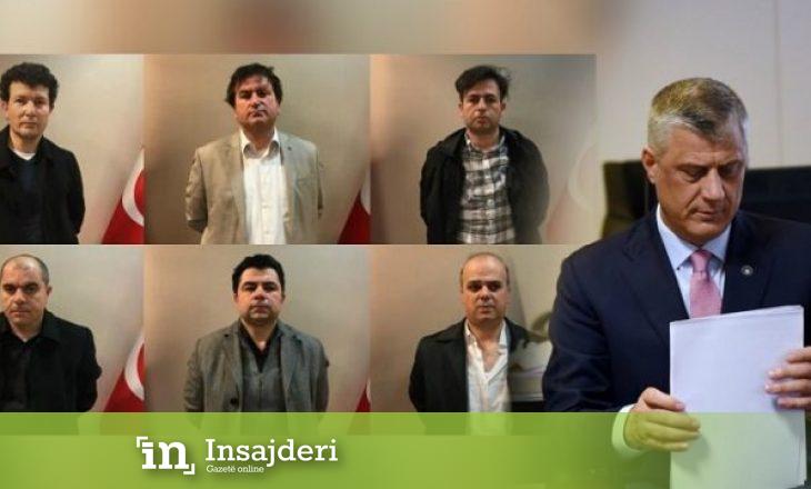 Thaçi sot raporton për deportimin e 6 shtetasve turq