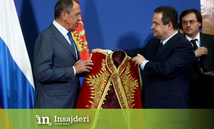 Lavrov: Për Kosovën do ta pranojmë çdo zgjidhje që i përshtatet Serbisë