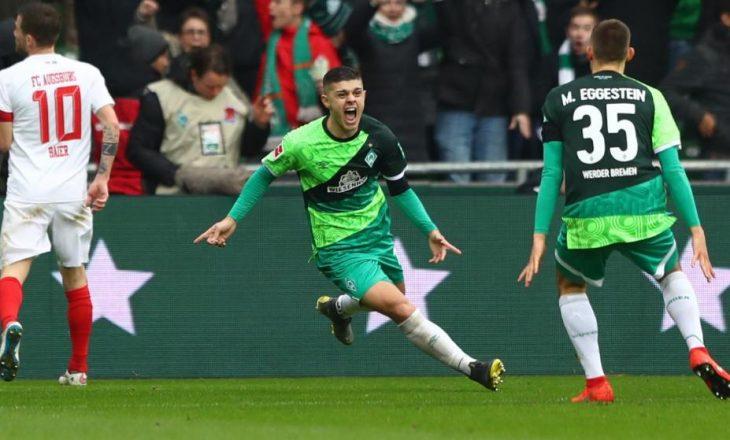 Trajneri i Werderit i thotë këto fjalë për Rashicën