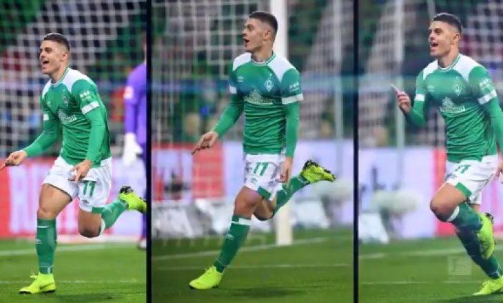 Rashica: Ishte një ëndërr, me Werderin kam bërë hapin e madh në karrierë