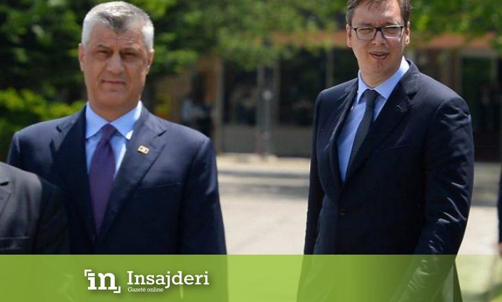 Thaçi: Vuçiq njeri i vështirë për të negociuar