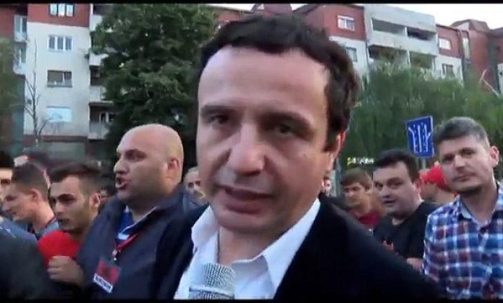 """Aktivizmi politik i Albin Kurtit në Kumanovë, """"Made in China"""""""