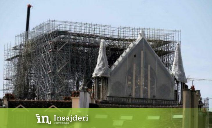 Notre-Dame rrezikohet edhe nga shiu