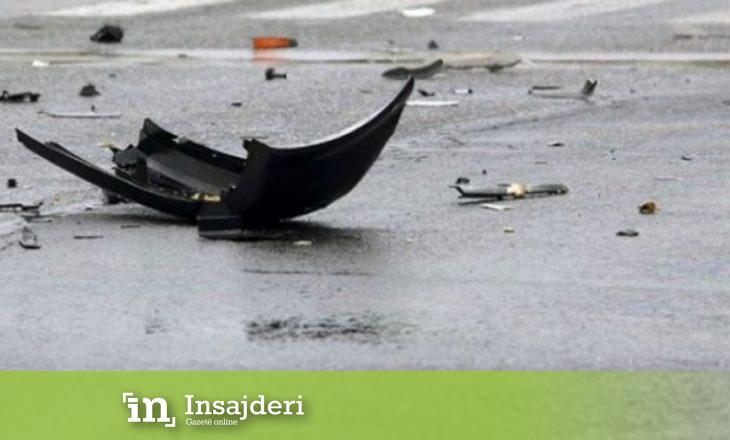 Aksident trafiku në Drenas, pesë të lënduar