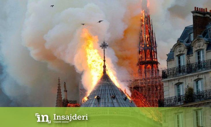 "Bie çatia e katedrales ""Notre Dame"""
