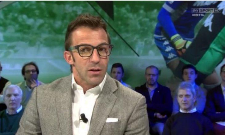 Del Piero befason me fjalët për Juventusin