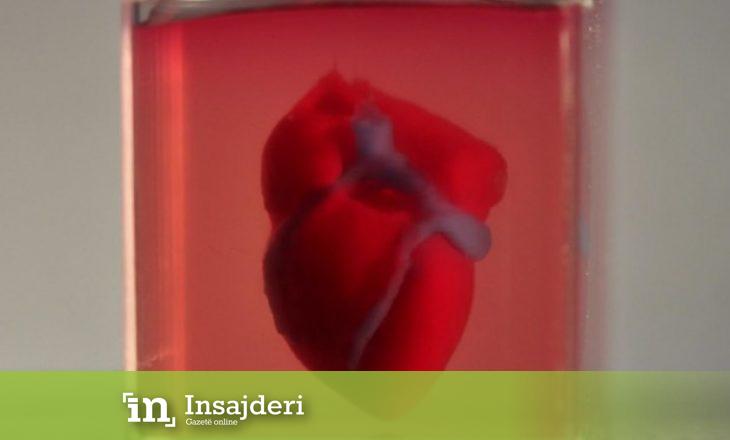 Shkencëtarët printojnë zemrën e parë 3D në botë