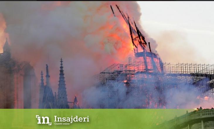 Trump ofron ndihmë për rindërtimin e Notre Dame