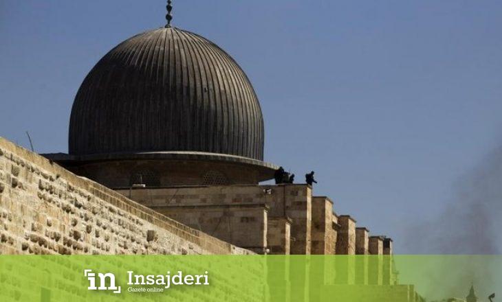 Në të njëjtën kohë me katedralen në Paris merr flakë edhe xhamia Al-Aksa në Jerusalem