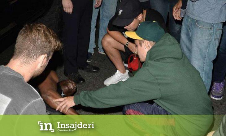 Justin Bieber paditet nga fotografi