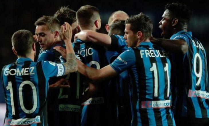 Atalanta kalon në gjysmëfinale të Kupës së Italisë