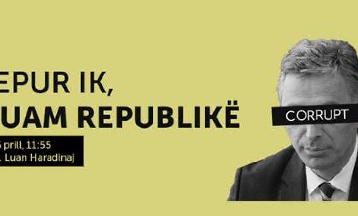 """VETËVENDOSJE NISË MOBILIZIMIN PËR PROTESTËN """"LEPUR IK, DUAM REPUBLIKË"""""""