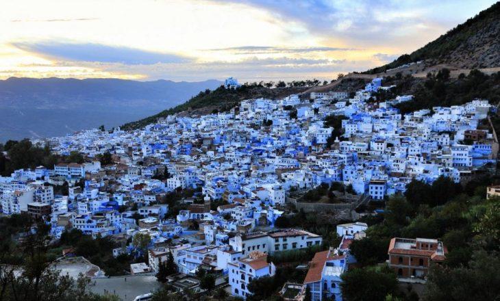 Magjia e Marokut, ky është qyteti i lyer i gjithi blu