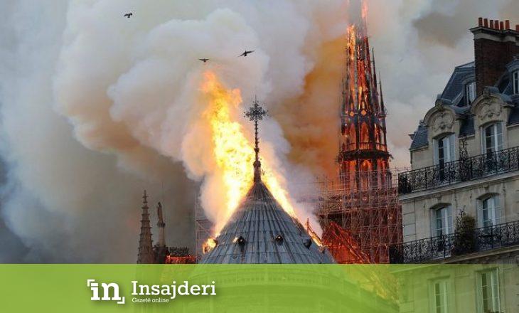 Prokuroria e Parisit merr masa për zjarrin në katedralen Notre Dame