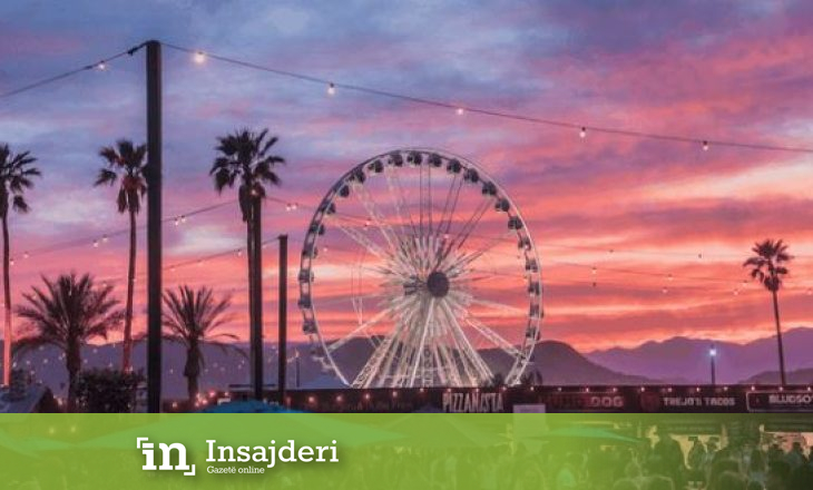 """Publikohen imazhe nga festivali """"Coachella"""""""