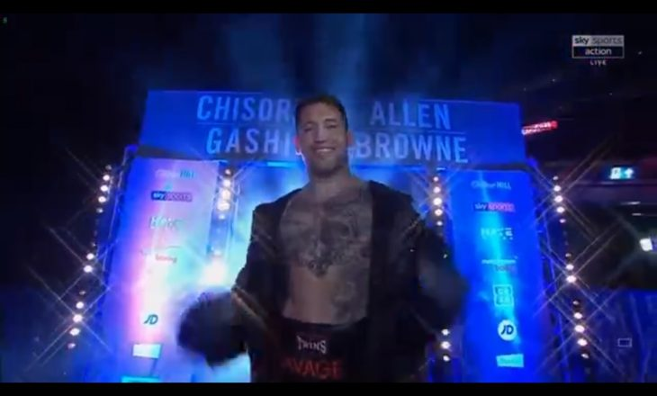 Chisora dhe Gashi dalin në ring – këtu e ndiqni sfidën live