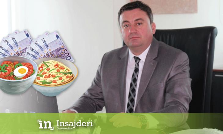 Ministri i shkarkuar për fyerje ndaj shqiptarëve shpenzoi mbi 14 mijë euro për dreka zyrtare