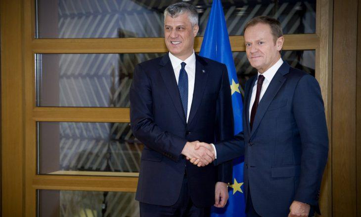 Fillon takimi Thaçi – Tusk në Bruksel